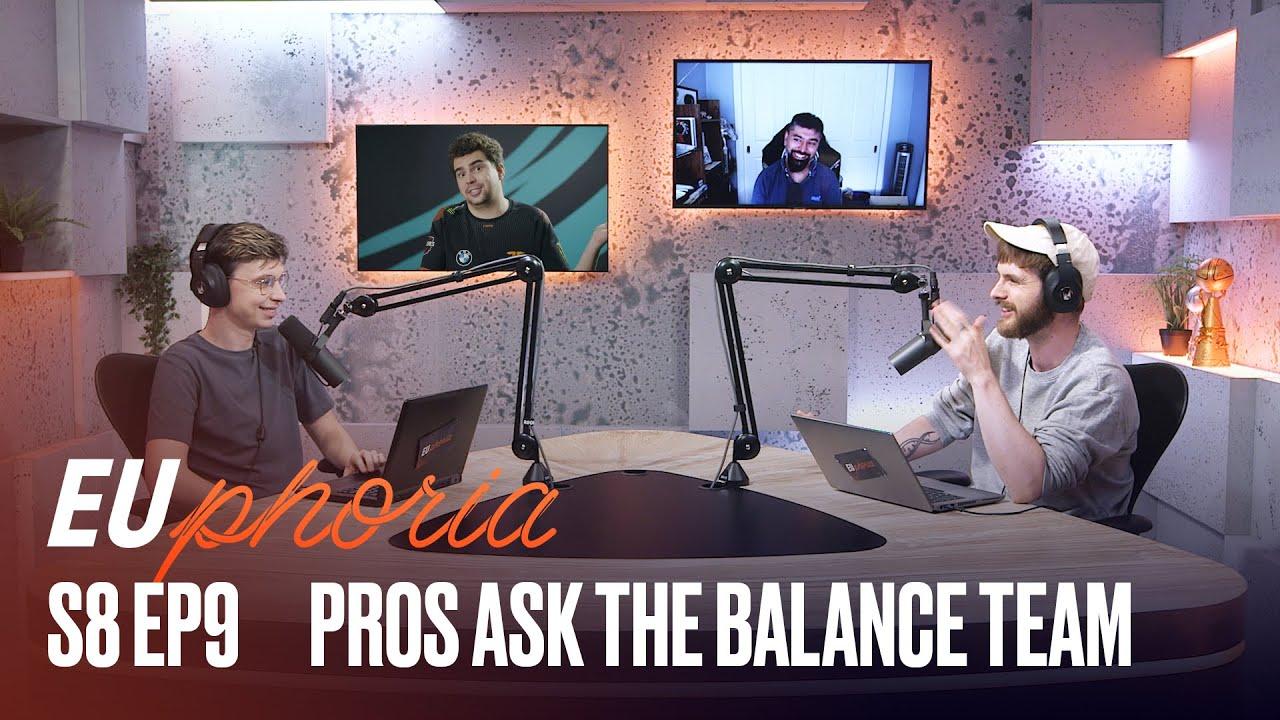 Pros Ask the Balance Team (ft. Lead Game Designer)   EUphoria   2021 LEC Summer S8 EP9