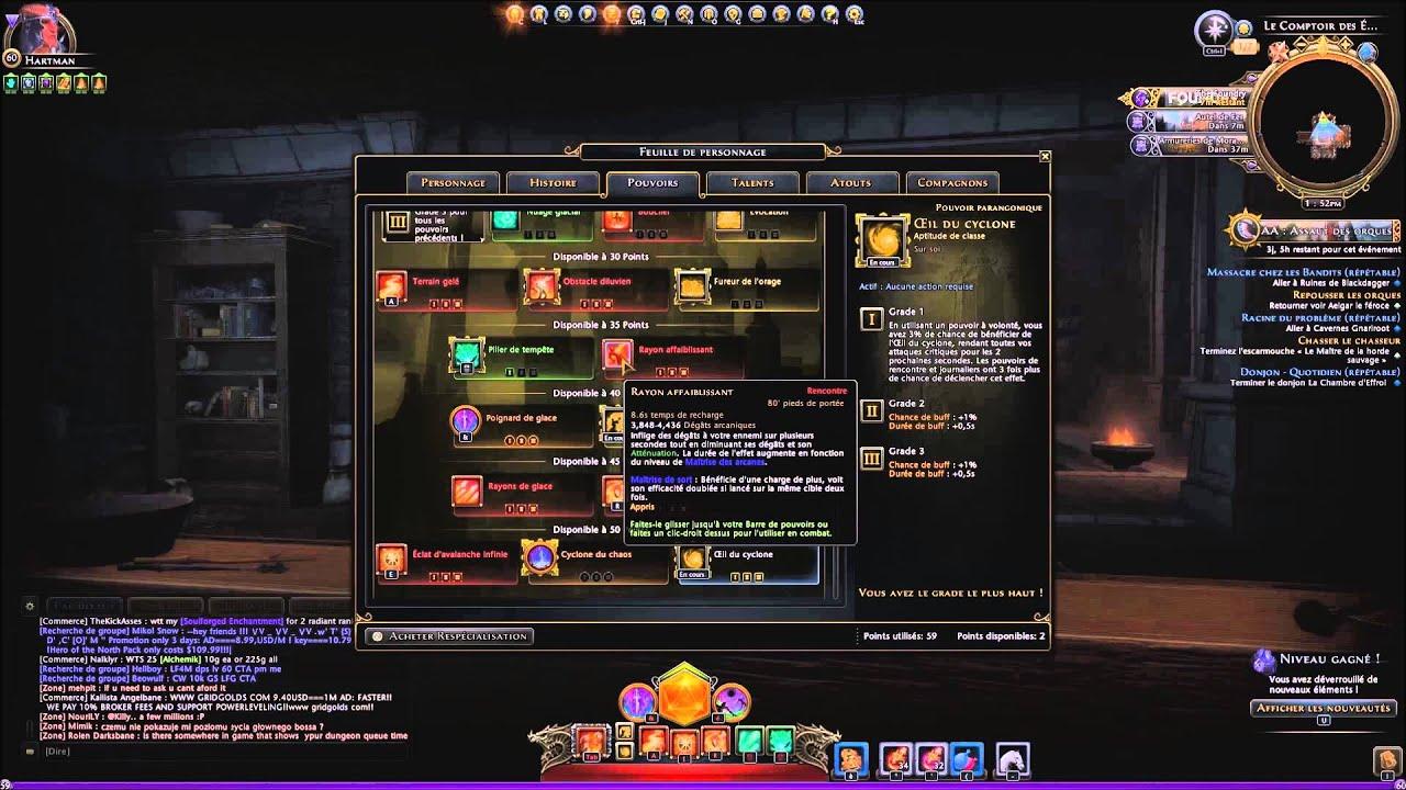 Magicien Manipulateur Build Neverwinter Module
