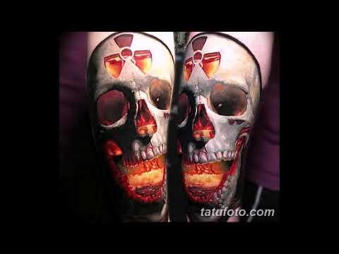Значение тату ядерный взрыв гриб - оригинальная коллекция рисунков тату на фото