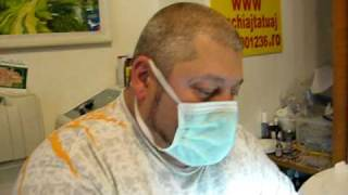 Machiaj semipermanent make up tatuaj al sprincenelor ochilor contur buze Zarescu Dan Tel 0745001236  Buc
