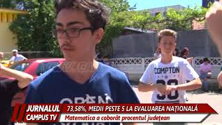 73,58, MEDII PESTE 5 LA EVALUAREA NATIONALA