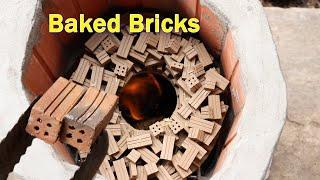 How To Build a Miniature Brick Oven - Bake bricks