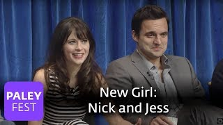 New Girl - Zooey Deschanel and Jake Johnson On Nick and Jess