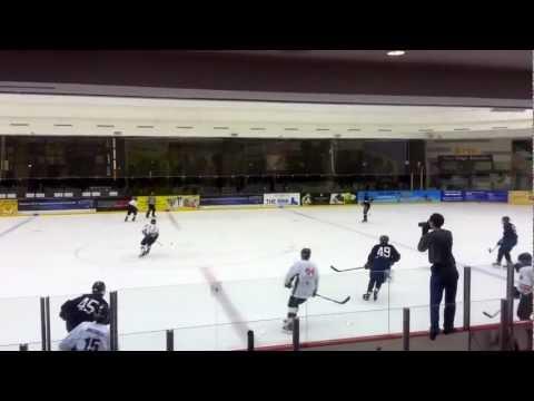 Singapore Ice Hockey League 7 Oct 12 Div 2 SIHA vs Subway