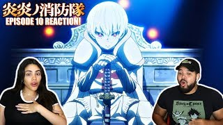 SHINRA'S BROTHER REVEALED! Fire Force Episode 10 REACTION!!!