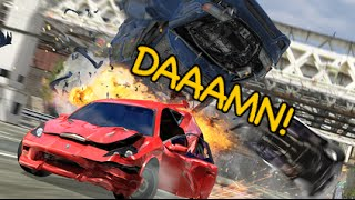 THIS GAME IS TOO HYPE! [BURNOUT 3: TAKEDOWN!] [PS2]