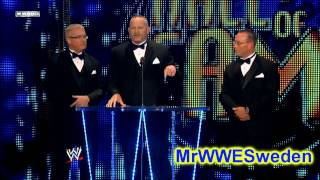 """Road Dogg"" Jesse James speech at WWE Hall of Fame 2011"
