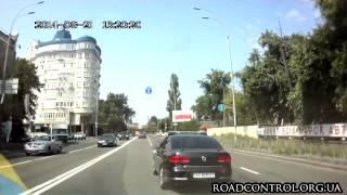 Гнида за рулем с мигалками АА8035ЕТ | КИЕВ