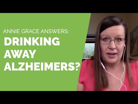 Does drinking really prevent Alzheimer's?