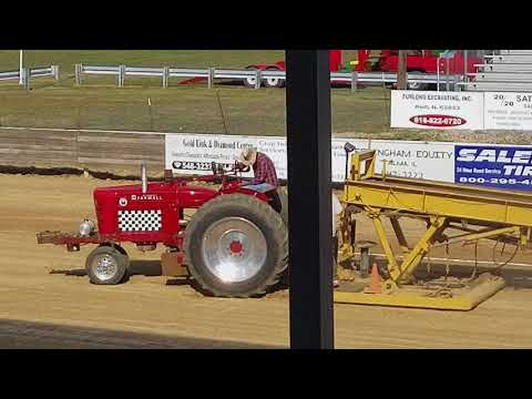 2017 Antique Power Days tractor pull