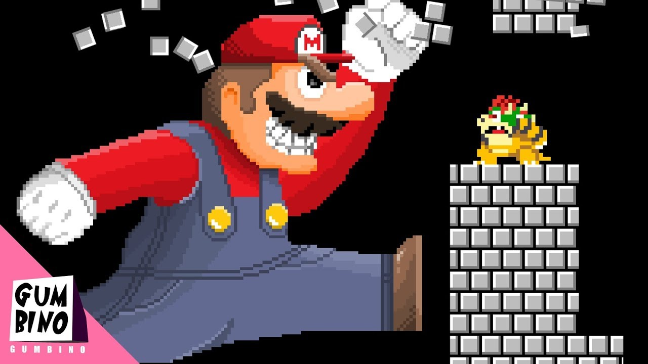 if bowser and mario switched places ft level up youtube