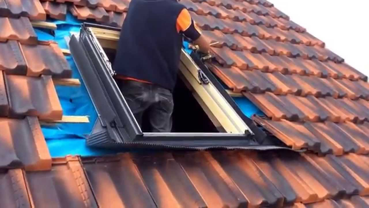 attic conversion skylight installation velux skylight ghl opening skylight youtube. Black Bedroom Furniture Sets. Home Design Ideas