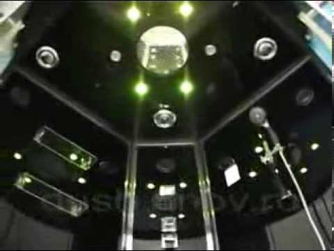 Ariel Platinum DA333F8 Steam Shower Enclosure   YouTube