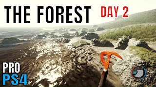 The Forest | PS4 PRO GAMEPLAY FOOTAGE | DAY 2