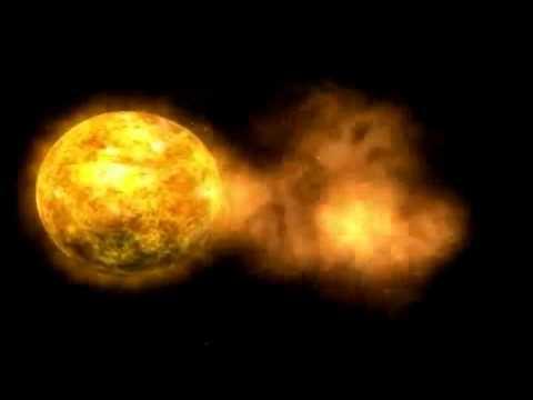 Amikor eléri Földünket a napkitörés (Forrás: SOHO)