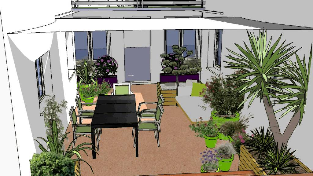 Kael concepteur paysagiste a toulouse am nagement d 39 un for Amenagement patio