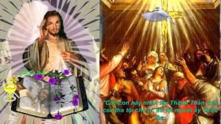 """""""Các con hãy nhận lấy Thánh Thần"""""""