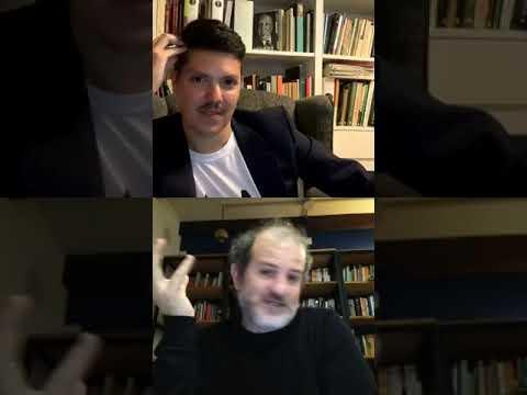 #BorgesPalooza: conversación entre Santiago Llach y Daniel Mecca sobre Jorge Luis Borges