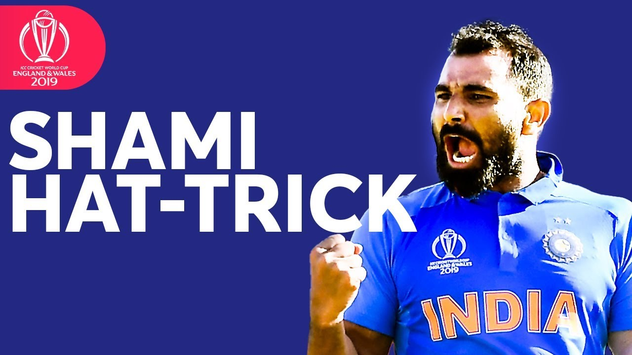 Mohammed Shami Hat Trick To Win The Match Icc Cricket World Cup Youtube