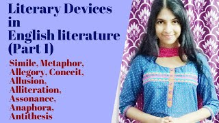 Literary Devices (Figures of Speech) in English Literature - Part 1