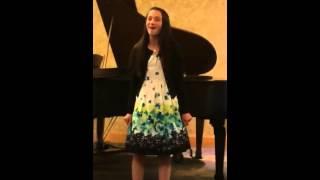 """Zoe Heiden sings """"Pulled"""""""