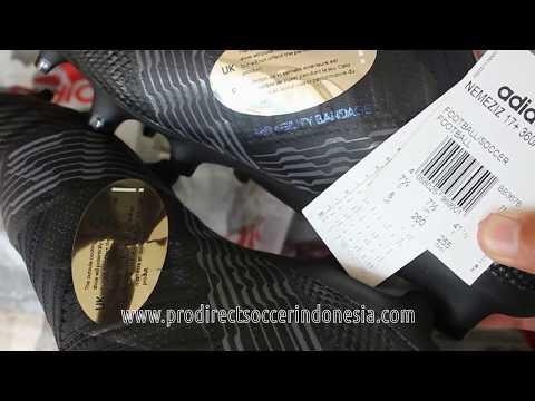 Sepatu Bola Adidas Nemeziz 17+ 360 Agility FG Core Black BB3676 Original