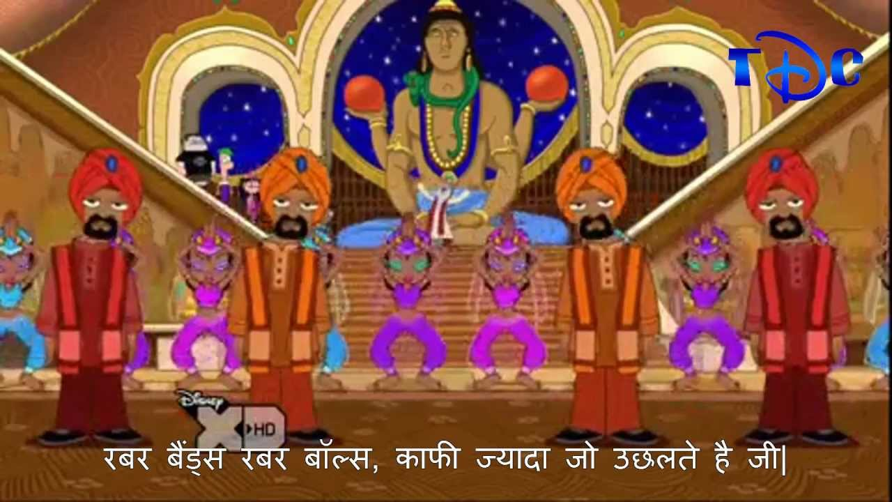 Phineas And Ferb Bollywood