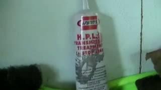 Замена масла в коробке (МКПП) мерседес