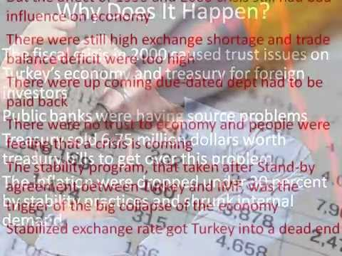 2001 ECONOMIC CRISIS IN TURKEY AND RISK MANAGEMENT