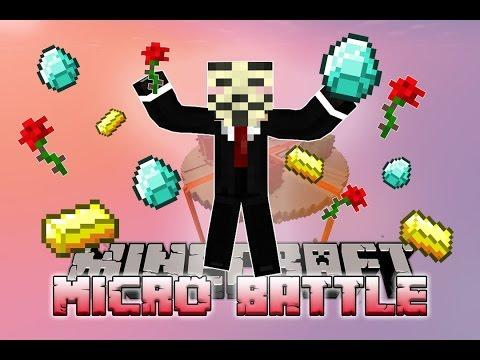 """""""NICEST HACKER EVER!""""  Minecraft MICRO BATTLES #35 w/LandonMC"""