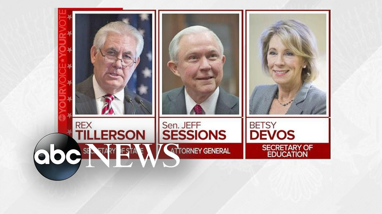 Trump Cabinet Nominees Face Confirmation Hearings Amid Controversy ...