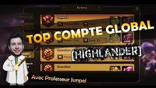 Prof. Junpei LES GROS COMPTES | Highlander