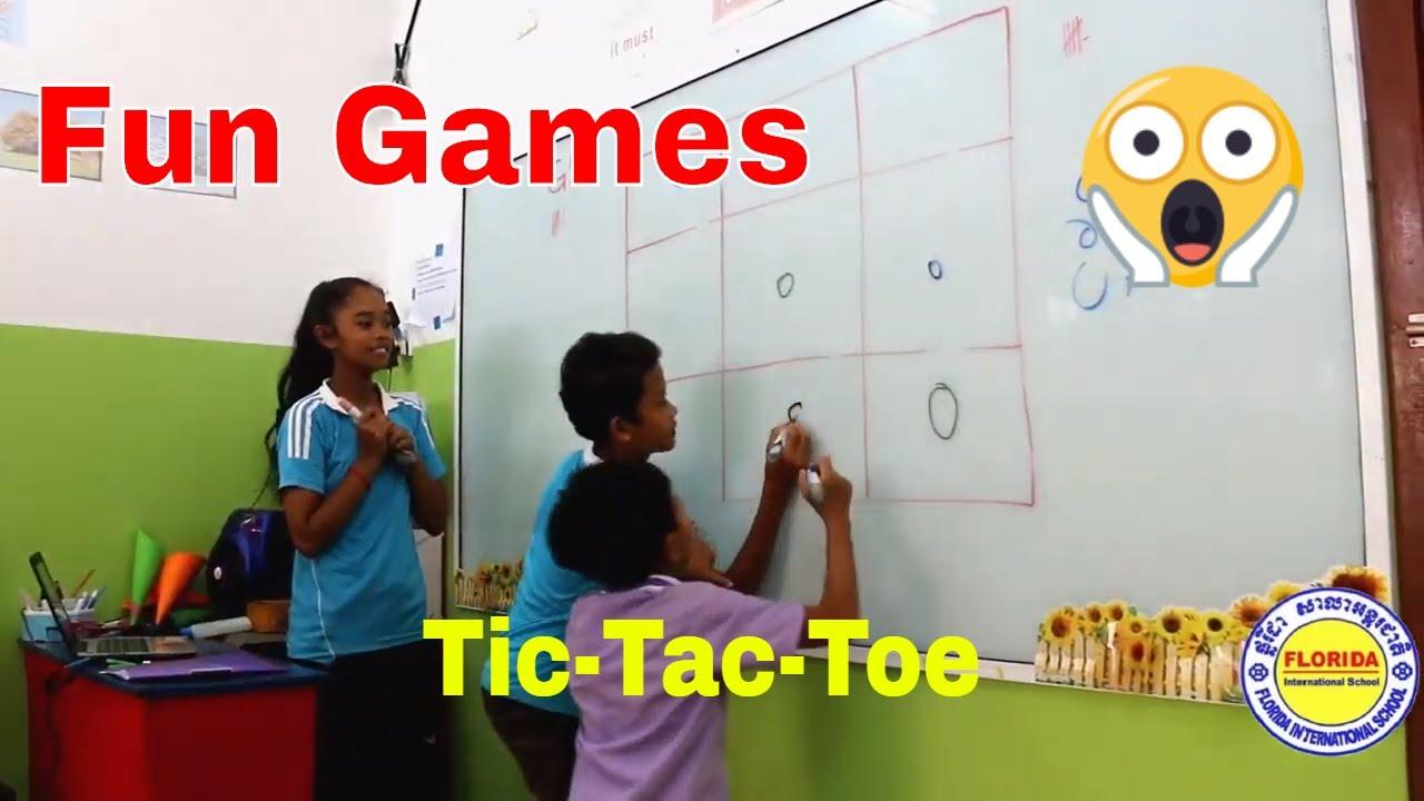 47ccd188 Tic Tac Toe || Classroom Games || Party Games || Fun Games || Parlour Games