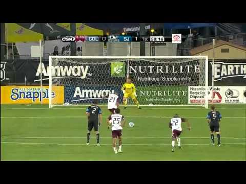 Colorado Rapids vs. San Jose Earthquakes - 08/13/11 - [WEEK 22 - HIGHLIGHTS]