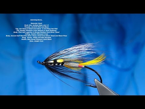Tying a Hairwing Brora Salmon Fly by Davie McPhail