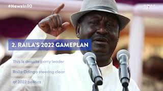 Where is the President, what does Raila have in store ahead of the 2022 polls? |#NewsIn90