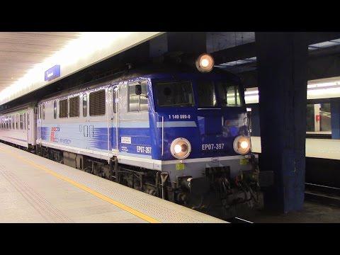 PKP Dworzec Warszawa Centralna Bahnhof Warsaw Central Railway Station