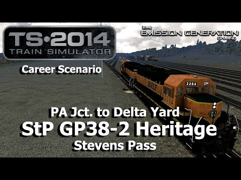PA Jct. to Delta Yard - Career Scenario - Train Simulator 2014