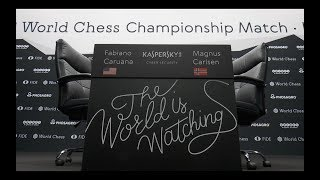 Highlights video World Chess Championship 2018 - Round- up of Day 1