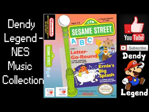 Sesame Street NES Music Song Soundtrack - Go Round Completed [HQ] High Quality Music
