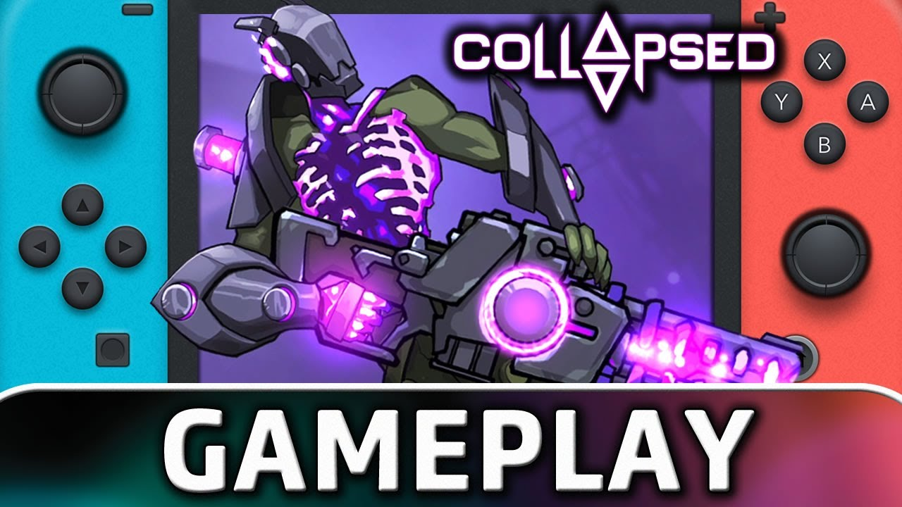 Collapsed Nintendo Switch Gameplay Contranetwork