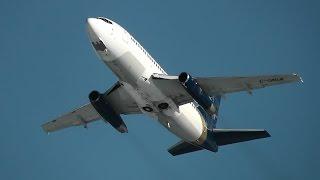 Nolinor | Boeing 737-200 take-off | C-GNLK | Val-d'Or (CYVO)