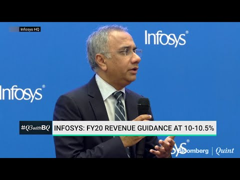 Infosys' FY20 Revenue Guidance At 10-10.5%