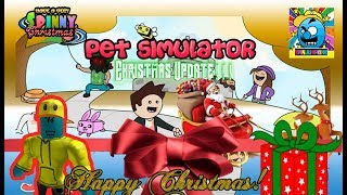Roblox #61 | FESTIVE PETS! MERRY CHRISTMAS! | LIVE | (sjk livestreams #266)