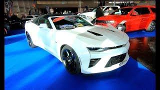 CHEVROLET CAMARO V8 CABRIOLET MY 2018 WHITE COLOUR WALKAROUND