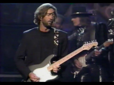 Eric Clapton, Buddy Guy, Richie Sambora & All Star Band - Sweet Home Chicago (NYC 1990)