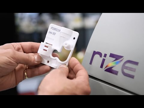 Control color and stiffness with Rize 3D printer