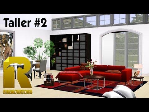 Combinando un sof rojo taller sim renovators youtube for Cortinas blancas para salon