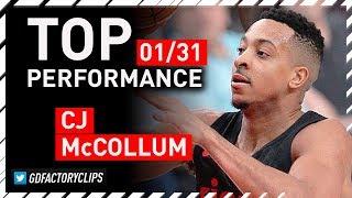 C.J. McCollum TOP Full Highlights vs Bulls - 50 Points | 2018.01.31