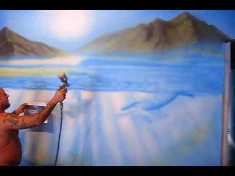 Pinturas desenhos em paredes youtube - Pinturas de paredes ...